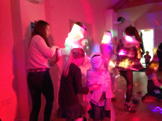 Children's Party Mummy Game