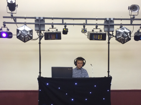 Children's Party Birthday Boy DJ
