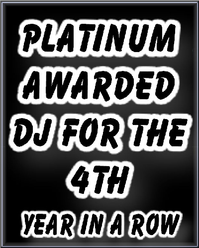 Platinum Awarded DJ For The 4th Yeah In A Row