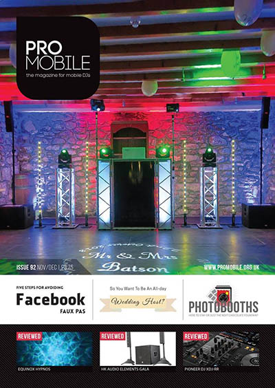 Pro Mobile Magazine Featured DJ Cover