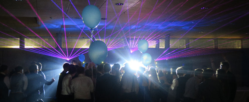 Wadebridge School Prom at Eden Projec
