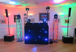 One Of Our Video DIsco Systems