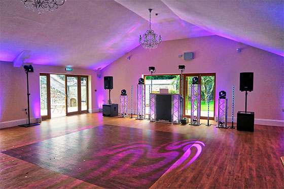 Cornwall Wedding DJ at Tredudwell Manor - Fowey
