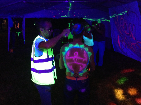 Adults UV Neon Glow Party