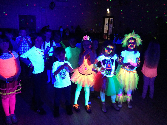 Kids UV Neon Glow Party