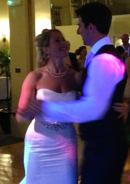The Newlyweds First Dance