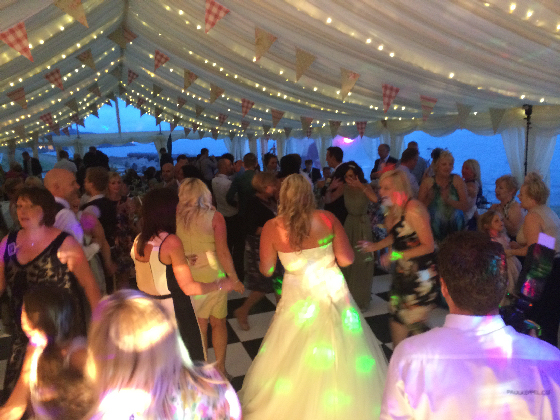 St Mawes Castle Marquee